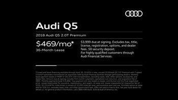 2018 Audi Q5 TV Spot, 'The Decision' [T2] - Thumbnail 9