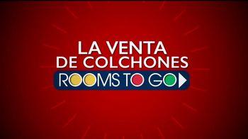 Rooms to Go Venta de Colchones TV Spot, 'Colchones Queen' [Spanish] - Thumbnail 2