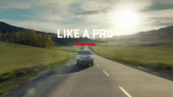 2018 GMC Sierra 1500 TV Spot, 'Like a Pro: Anthem'