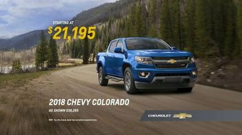 2018 Chevrolet Colorado TV Spot, 'First-Time Chevy Truck Owners' [T2] - Thumbnail 7