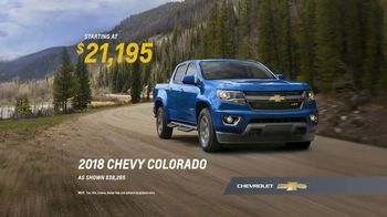 2018 Chevrolet Colorado TV Spot, 'First-Time Chevy Truck Owners' [T2] - Thumbnail 8