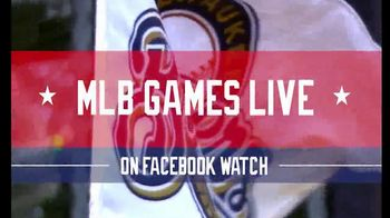 Facebook Watch TV Spot, 'MLB Games Live' - Thumbnail 2