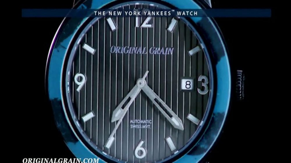 Original Grain New York Yankees Watch TV Commercial, 'A Piece of Yankees History'