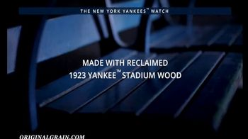 Original Grain New York Yankees Watch TV Spot, 'A Piece of Yankees History' - Thumbnail 2