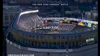 Original Grain New York Yankees Watch TV Spot, 'A Piece of Yankees History' - Thumbnail 3