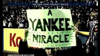 Original Grain New York Yankees Watch TV Spot, 'A Piece of Yankees History' - Thumbnail 4