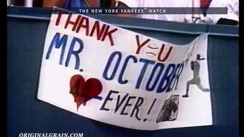 Original Grain New York Yankees Watch TV Spot, 'A Piece of Yankees History' - Thumbnail 5