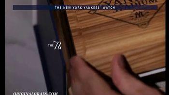 Original Grain New York Yankees Watch TV Spot, 'A Piece of Yankees History' - Thumbnail 8