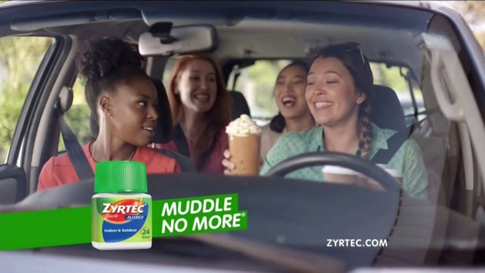 Zyrtec Tv Commercial Carpool Save Video