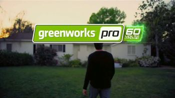 GreenWorks Pro 60-Volt 21-Inch Self-Propelled Mower TV Spot, 'Evolve' - Thumbnail 9