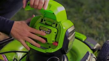 GreenWorks Pro 60-Volt 21-Inch Self-Propelled Mower TV Spot, 'Evolve' - Thumbnail 2