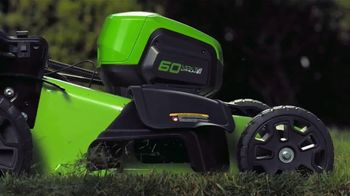 GreenWorks Pro 60-Volt 21-Inch Self-Propelled Mower TV Spot, 'Evolve' - Thumbnail 5