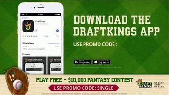 DraftKings TV Spot, '$10,000 Fantasy Baseball Contest' - Thumbnail 6