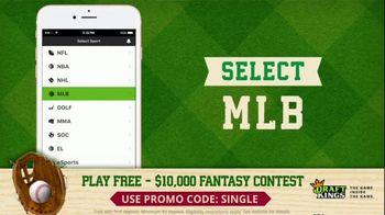 DraftKings TV Spot, '$10,000 Fantasy Baseball Contest' - Thumbnail 7
