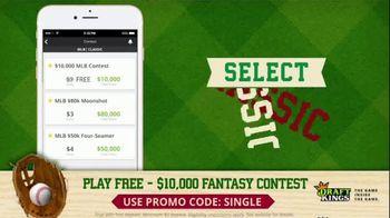 DraftKings TV Spot, '$10,000 Fantasy Baseball Contest' - Thumbnail 8