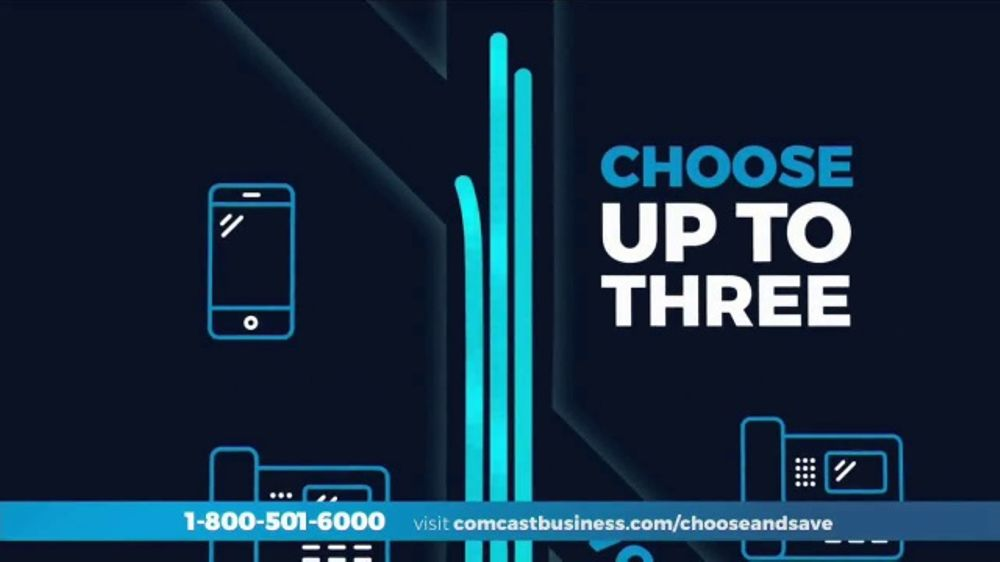 Comcast Business TV Commercial, 'Choose Three Solutions'