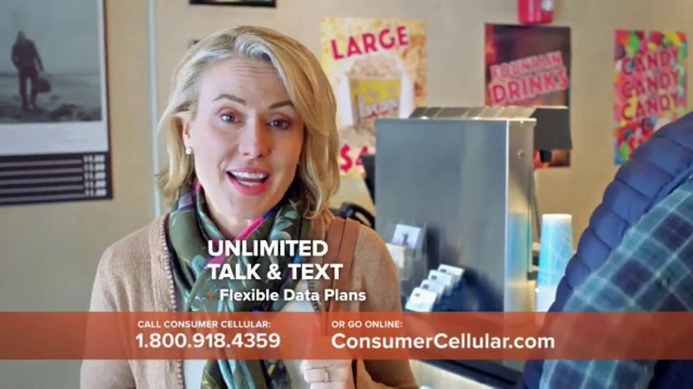 Consumer Cellular TV Commercial, 'Matinee Movies' - Video