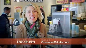 Consumer Cellular TV Spot, 'Matinee Movies' - Thumbnail 6