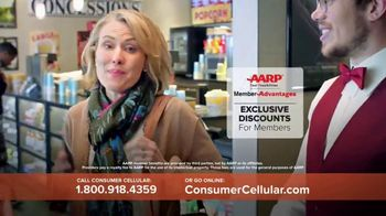 Consumer Cellular TV Spot, 'Matinee Movies' - Thumbnail 7