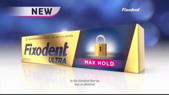 Fixodent Ultra Max Hold TV Spot, 'Lock Your Dentures: $2.50' - Thumbnail 5