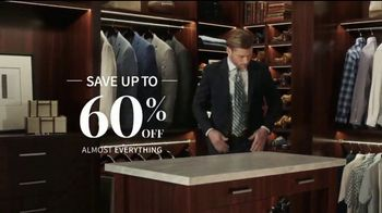 JoS. A. Bank Up to 60 Percent Off Sale TV Spot, 'Traveler and 1905 Suits'