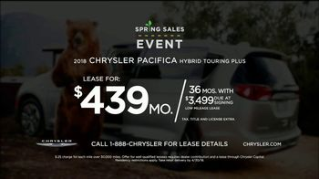 Chrysler Spring Sales Event TV Spot, 'Camping' [T2] - Thumbnail 8