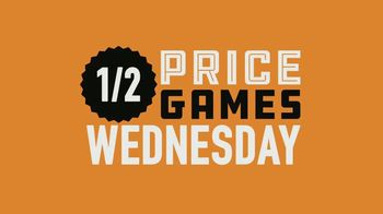 Dave and Buster's 1/2 Price Games Wednesday TV Spot, 'It's Play Day!'