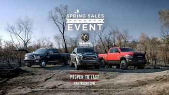Ram Spring Sales Event TV Spot, 'Long Live Passion' Song by Anderson East - Thumbnail 6