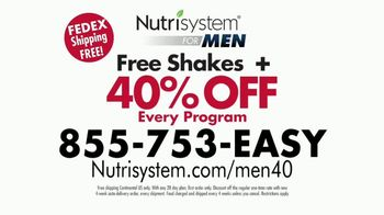 Nutrisystem for Men TV Spot, 'Put Down the Pie: 40 Percent' - Thumbnail 8
