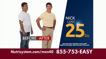 Nutrisystem for Men TV Spot, 'Put Down the Pie: 40 Percent'