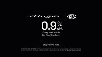 2018 Kia Stinger GT TV Spot, 'The Reviews Are In: Lives Up to the Hype' [T2] - Thumbnail 9