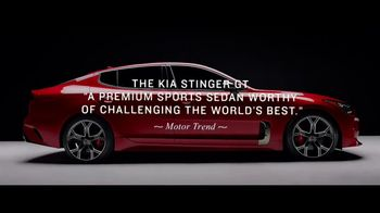 2018 Kia Stinger GT TV Spot, 'The Reviews Are In: Lives Up to the Hype' [T2] - Thumbnail 2