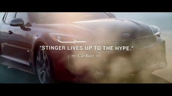 2018 Kia Stinger GT TV Spot, 'The Reviews Are In: Lives Up to the Hype' [T2] - Thumbnail 5