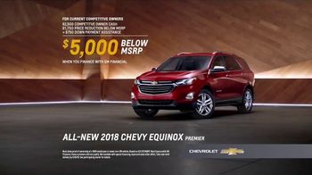 2018 Chevrolet Equinox TV Spot, 'Switch to a New Chevy' - Thumbnail 7