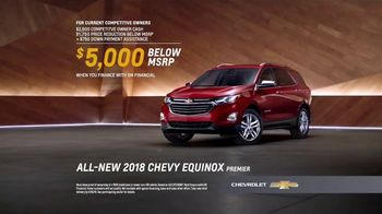 2018 Chevrolet Equinox TV Spot, 'Switch to a New Chevy' [T2] - Thumbnail 7