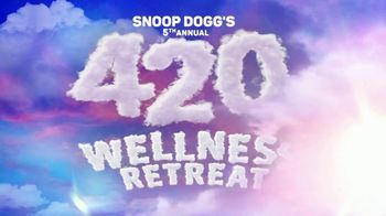 Snoop Dogg's 420 Wellness Retreat TV Spot, 'Weed Week Party Time' - Thumbnail 2