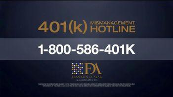 Franklin D. Azar & Associates, P.C. TV Spot, '401(k) Mismanagement' - Thumbnail 6