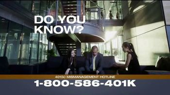 Franklin D. Azar & Associates, P.C. TV Spot, '401(k) Mismanagement' - Thumbnail 3