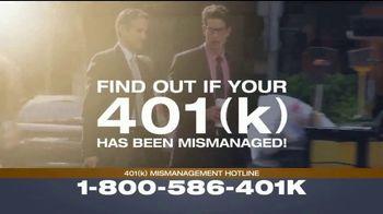 Franklin D. Azar & Associates, P.C. TV Spot, '401(k) Mismanagement' - Thumbnail 4