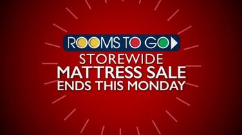 Rooms to Go Storewide Mattress Sale TV Spot, 'Starting at $777' - Thumbnail 1