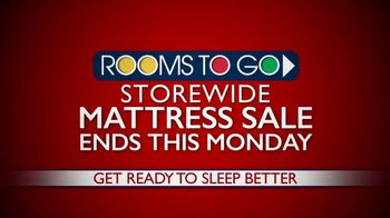 Rooms to Go Storewide Mattress Sale TV Spot, 'Starting at $777' - Thumbnail 2