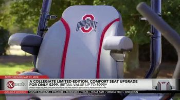 Exmark Manufacturing Game Changer Sales Event TV Spot, 'College Team Seats'