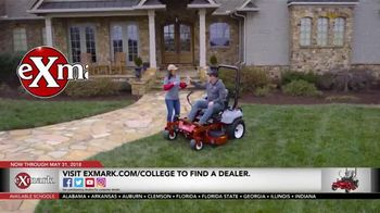 Exmark Manufacturing Game Changer Sales Event TV Spot, 'College Team Seats' - Thumbnail 10