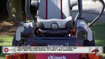 Exmark Manufacturing Game Changer Sales Event TV Spot, 'College Team Seats' - Thumbnail 3