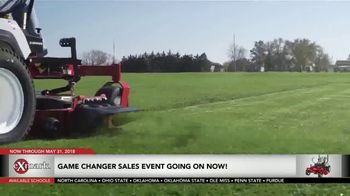 Exmark Manufacturing Game Changer Sales Event TV Spot, 'College Team Seats' - Thumbnail 5
