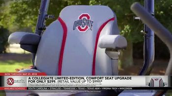 Exmark Manufacturing Game Changer Sales Event TV Spot, 'College Team Seats' - Thumbnail 6