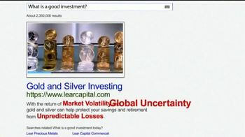 Lear Capital TV Spot, 'Gold & Silver Diversification Kit' - Thumbnail 2