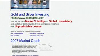 Lear Capital TV Spot, 'Gold & Silver Diversification Kit' - Thumbnail 3