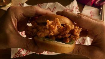 KFC Crispy Colonel Sandwich TV Spot, 'Shhh' [Spanish]