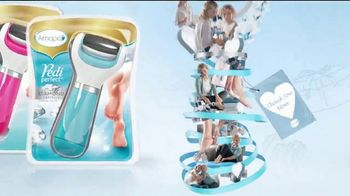 Amopé Pedi Perfect TV Spot, 'Give the Gift of Effortlessly Smooth Feet' - Thumbnail 9